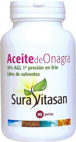 Sura Vitasan Aceite de Onagra 500mg Bio 90 perlas