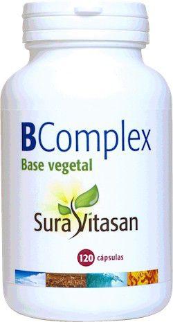 Sura Vitasan B Complex 120 cápsulas