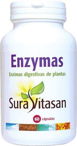 Sura Vitasan Enzymas 60 cápsulas