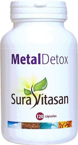 Sura Vitasan Metal Detox 120 cápsulas