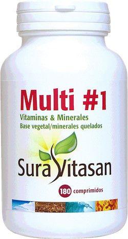 Sura Vitasan Multi #1 Vitaminas y Minerales 180 comprimidos