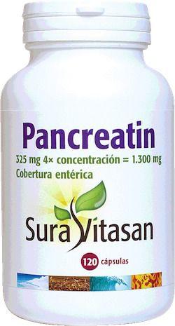 Sura Vitasan Pancreatin 120 cápsulas