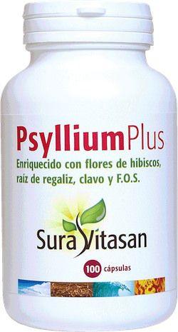 Sura Vitasan Psyllium Plus 100 cápsulas