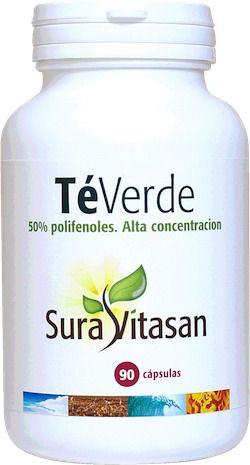 Sura Vitasan Té Verde 250g 90 cápsulas