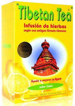 Té Tibetano sabor Limón 90 bolsitas
