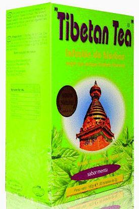 Té Tibetano sabor Menta 90 bolsitas