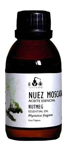 Terpenic EVO Nuez Moscada Aceite Esencial Bio 100ml