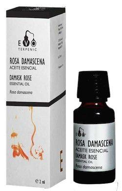 Terpenic EVO Rosa Damascena Aceite Esencial Bio 2ml