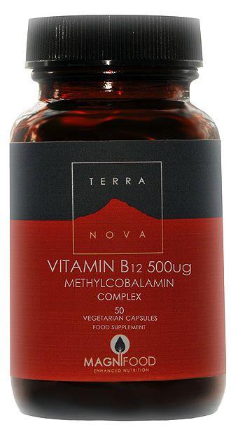 Terranova Vitamina B12 Complex 50 cápsulas