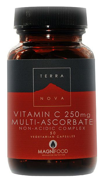 Terranova Vitamina C 250mg 50 cápsulas