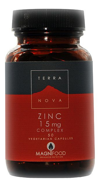 Terranova Zinc Complex 50 cápsulas