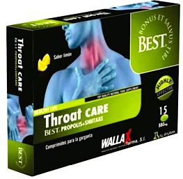 Wallax Farma Throat Care 15 cápsulas