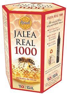 Tongil Apicol Jalea Real 1000g 20 viales