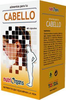 Tongil Nutriorgans Cabello 60 cápsulas