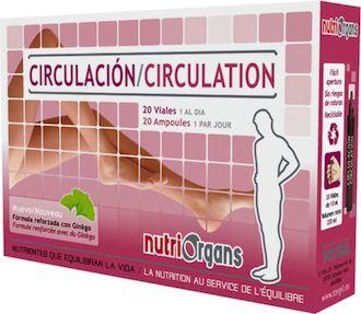 Tongil Nutriorgans Circulación 20 ampollas