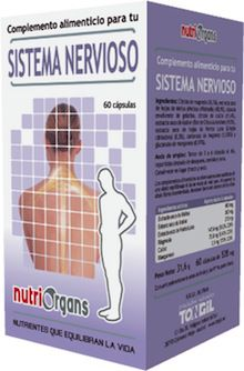 Tongil Nutriorgans Sistema Nervioso 60 cápsulas