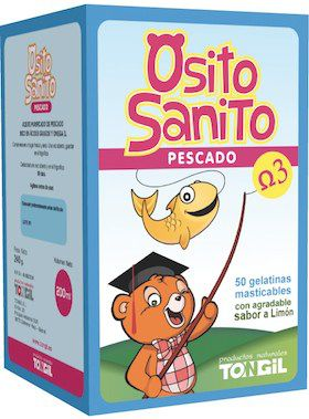 Tongil Osito Sanito Omega 3 50 gelatinas