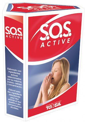 Tongil SOS Active 3 frascos 60ml