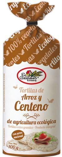 El Granero Integral Tortitas de Arroz y Centeno Bio 100g