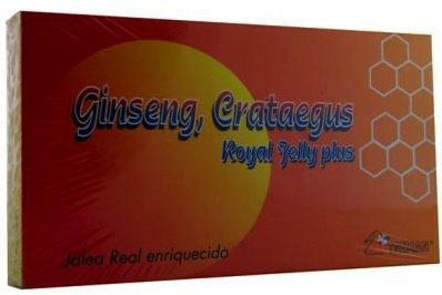 Treman Ginseng Crataegus 20 ampollas