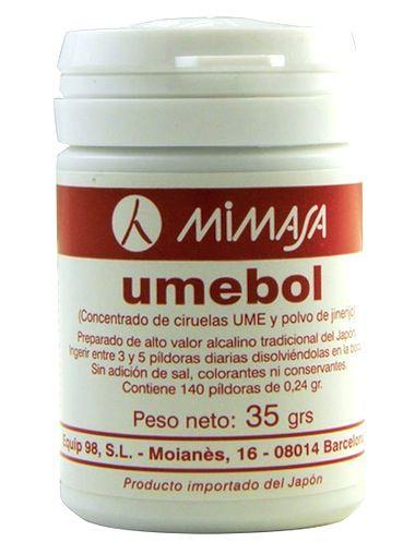 Mimasa Umebol 35g 140 comprimidos