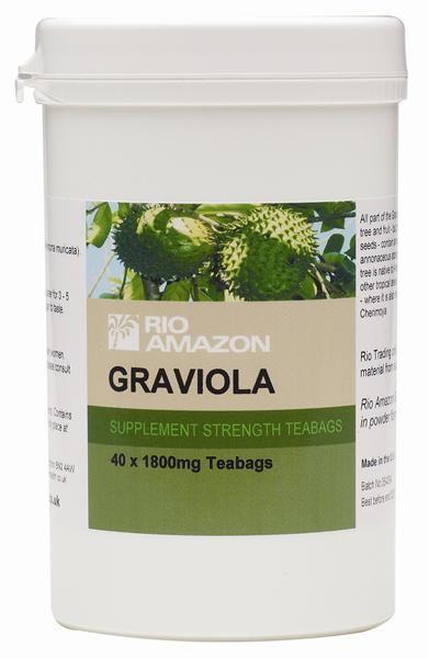 Rio Amazon Graviola-Guanabana hojas 40 Infusiones