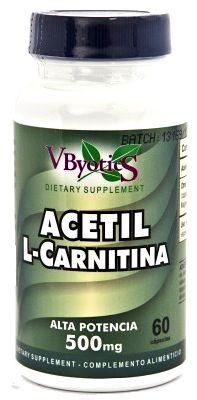 Vbyotics Acetil L-Carnitina 60 cápsulas