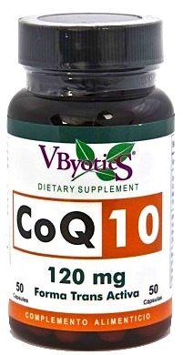 Vbyotics Coenzima Q10 120mg 50 cápsulas