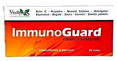 Vbyotics InmunoGuard 20 viales
