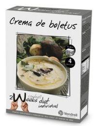 Vendrell 2 Weeks Diet Crema de Boletus 4 sobres