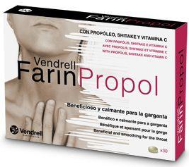 Vendrell Farinpropol 15 comprimidos