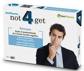 Vendrell Not4get 20 comprimidos