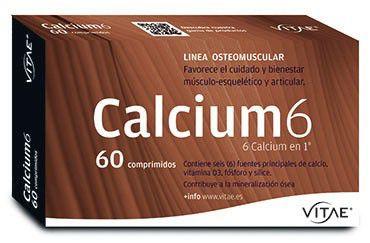 Vitae Calcium 6 60 comprimidos