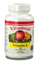Vitameal Vitamina E 400ui Natural 100 cápsulas