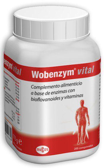 Wobenzym Vital 200 comprimidos Mucos