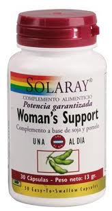 Solaray Woman's Support 30 cápsulas