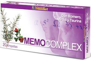 Ynsadiet Memo Complex 20 ampollas