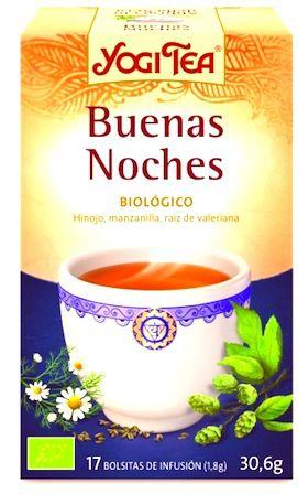 Yogi Tea Buenas Noches 17 bolsitas