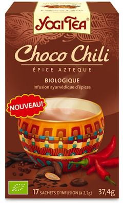Yogi Tea Choco Chili 17 bolsitas