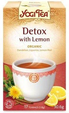 Yogi Tea Detox con Limón 17 bolsitas