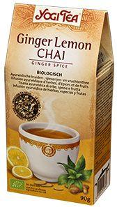 Yogi Tea Jengibre Limón Chai 90g