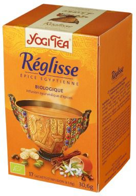 Yogi Tea Licorice - Regaliz 17 bolsitas