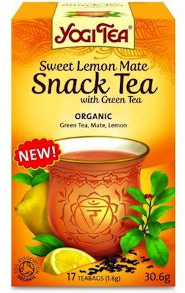 Yogi Tea Limón Mate Té Verde 17 bolsitas