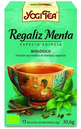 Yogi Tea Regaliz Menta 15 bolsitas