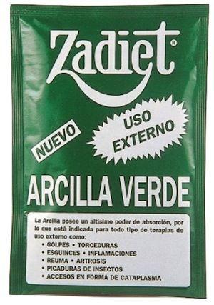 Zadiet Arcilla Verde 50g