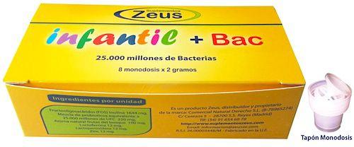 Zeus Infantil Bac 8 monodosis
