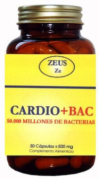 Zeus Cardio Bac 30 cápsulas