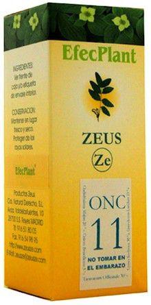 Zeus Efecplant 11 Coadyuvante Oncológico 60ml