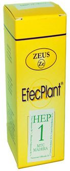 Zeus Efecplant 1 Hepático 60ml