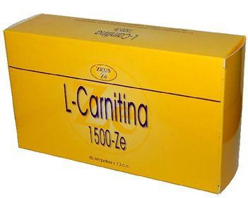 Zeus L-Carnitina 1500-Ze 30 ampollas